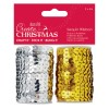 Sequin Ribbon (2x5m) - Create Christmas