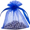 Organza Bag 7X9cm (10 Pack) Royal Bl
