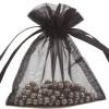 Organza Bag 10X15cm (10 Pack) Black