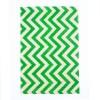 Burlap Sheet A4 Chevrons Green (2 Pack)